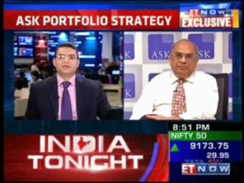 Interview of Mr  Bharat Shah, Executive Director, ASK Group on ET Now