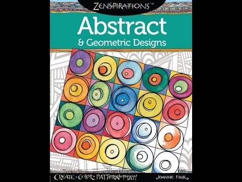 Flip Through Zenspirations Abstract & Geometric Designs Coloring ...