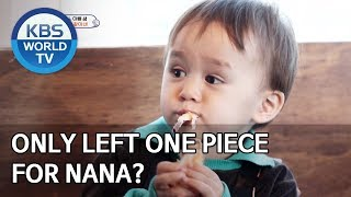 Only left one piece of dimsum for Nana? [The Return of Superman/2019.11.10]