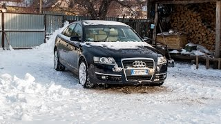 Audi a6 3.0 tdi Quattro c6 ,Cold Start -13°