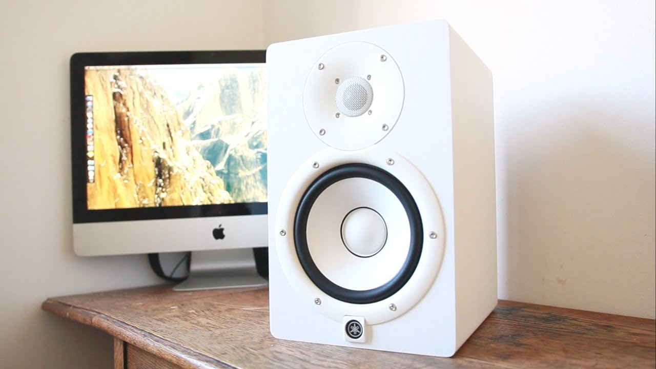 yamaha hs7 studio monitors unboxing youtube. Black Bedroom Furniture Sets. Home Design Ideas