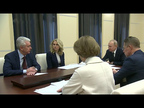 Президент провел совещание, посвященное мерам по борьбе с коронавирусом.