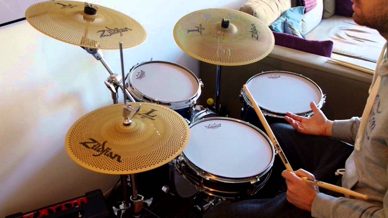 Video Demo Remo SilentStroke Practice Drumhead 12