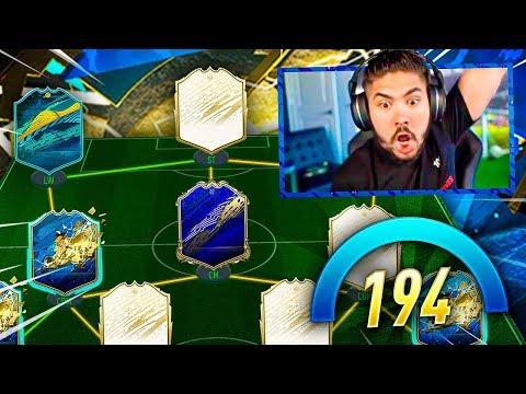 OMG I GOT A 194 DRAFT!! THE BEST DRAFT YET!! FIFA 20