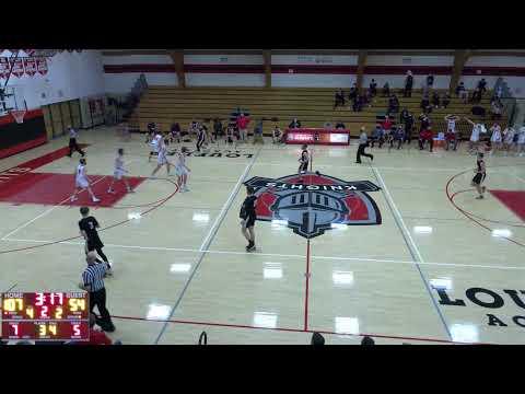 Lourdes High School vs. Little Wolf Varsity Mens' Basketball