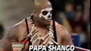 WWF TV Debut   Papa Shango vs Wolfe 2 08 92