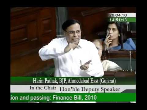 Finance Bill, 2010: Sh. Harin Pathak: 28.04.2010