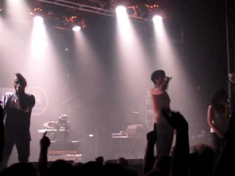 Atari Teenage Riot - Speed - live @ The Electric Ballroom London 12.05.10