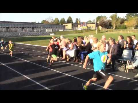 Grand Opening Ceremony of the Thompson-Todd Community Track and Sports Field