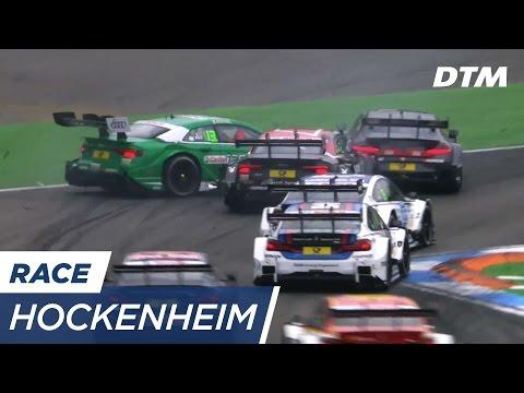 Crash during Start causes Restart & Safety Car - DTM Hockenheim 2017