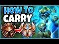 #1 XERATH WORLD HOW TO CARRY EVERY SINGLE GAME (EASY 1V9) - League of Legends