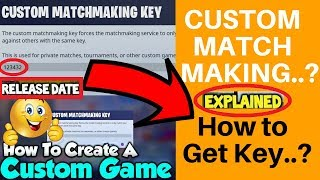 ✅Custom Matchmaking Key Fortnite: Xbox, Pc,Ps4 + Live, 2018,How to Get Tutorial,Key not supported