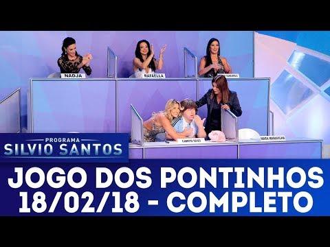 Jogo dos Pontinhos - Completo | Programa Silvio Santos (18/02/18)