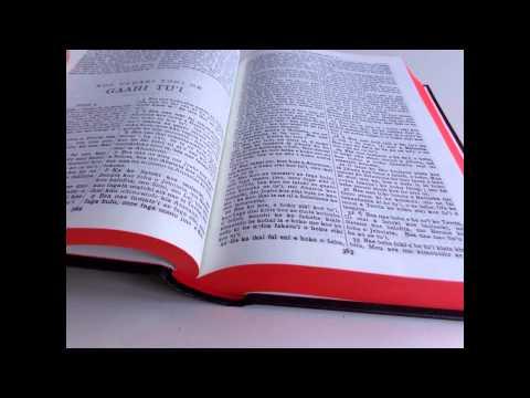 Tongan Bible West Old Version / Koe Tohi Tabu Katoa / Black Hardback 53W