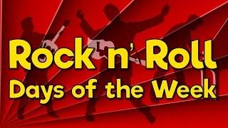 Rock n' Roll Days of the Week | Fun Math Song for Kids | Jack Hartmann
