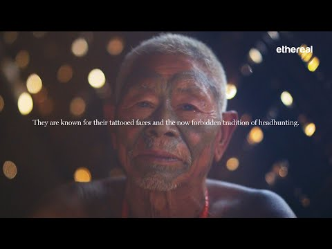Konyaks - The Headhunters Of India   Nagaland