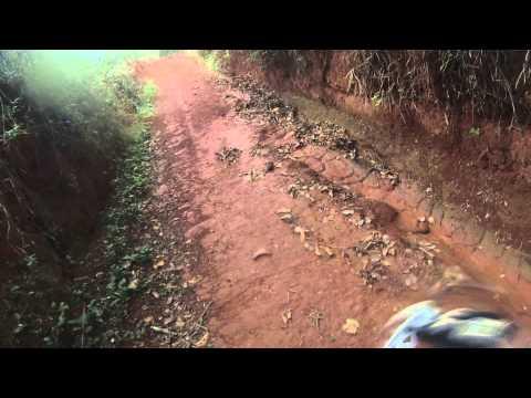 Trilha da cidade de BICHINHO a destino a PRADOS/MG, CRF450 X