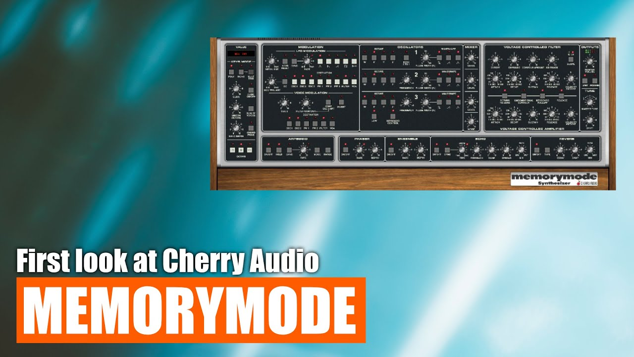 First look at Cherry Audio's Memorymode