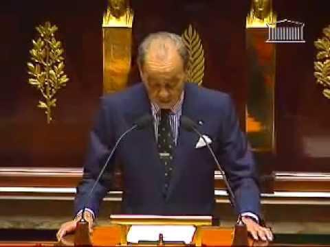 SM Hassan II à l 'Assemblée Nationale France ( 07-05-1996 )