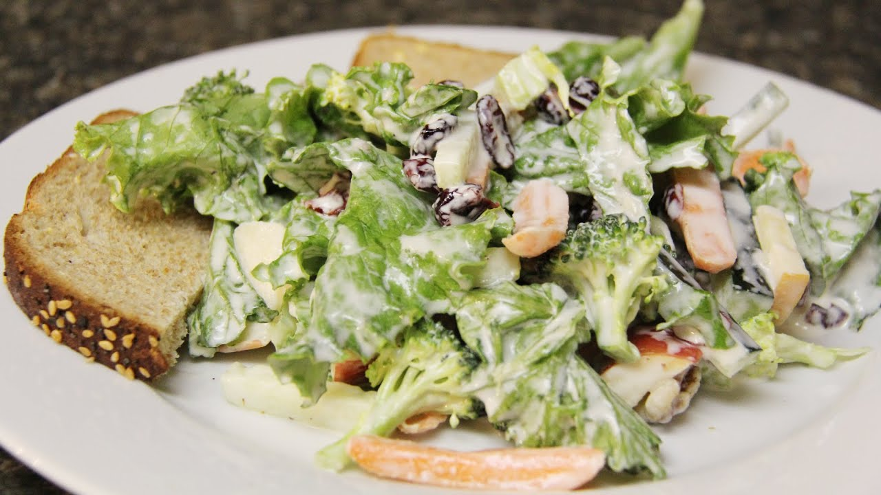 Easy vegetable salad for lunch quick easy salad for Salas lunchs