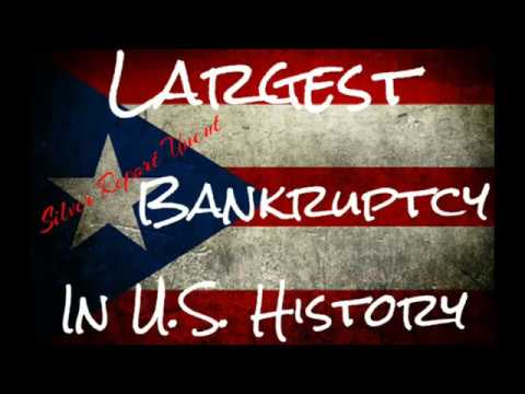 Puerto Rico Just Filed For Bankrupty Largest U.S. Territory in History Economic Collapse 2017