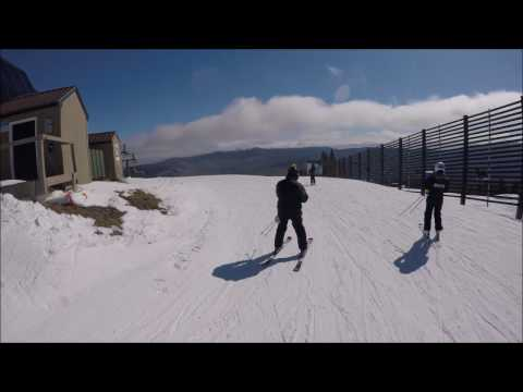 Skiing at Waterville Valley - New Hampshire - 3/19/2017