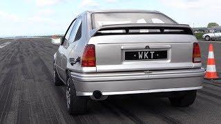 1250HP Opel Kadett WKT Supercar Killer - INSANE 0-314 KM/H Acceleration! thumbnail