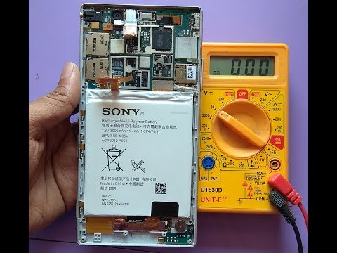 Sony Xperia Charging Ic Problem 100% Solution Very Easy /rks Technical..