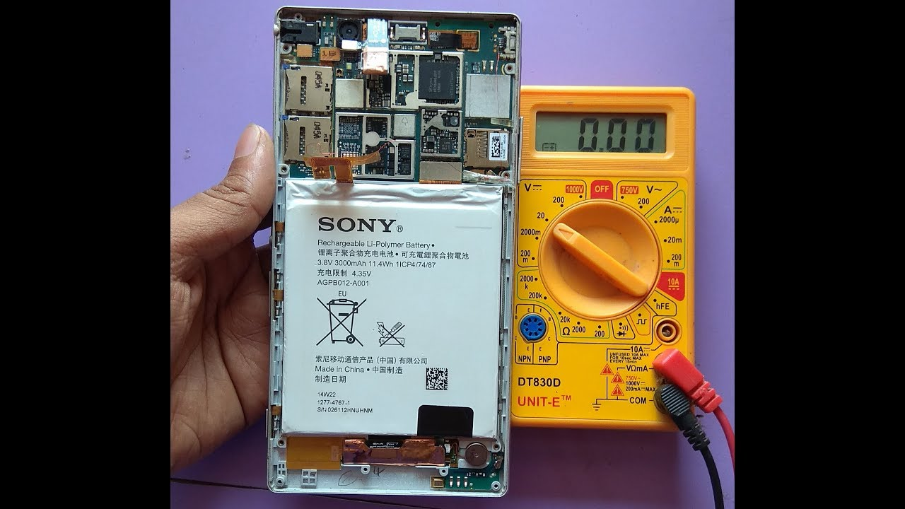 sony xperia charging ic problem 100% solution very easy /rks technical