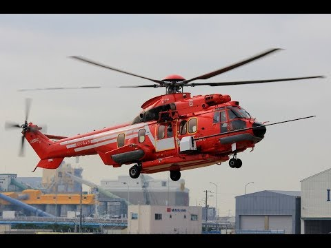 EC225 Super Puma Aerial Highrise Firefighting SkyCannon Syst