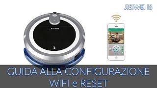 COME CONFIGURARE WIFI E RESETTARE JISIWEI I3 ROBOT [GUIDA]