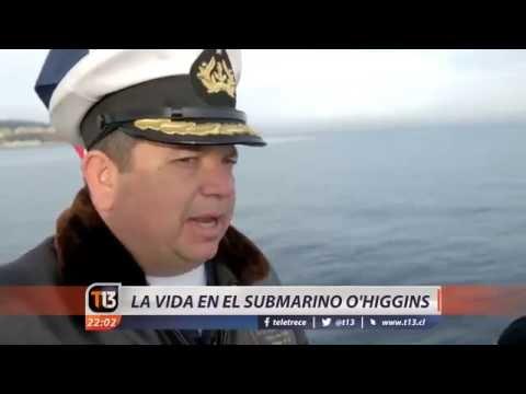 La vida dentro del Scorpene O'Higgins de la Armada de Chile