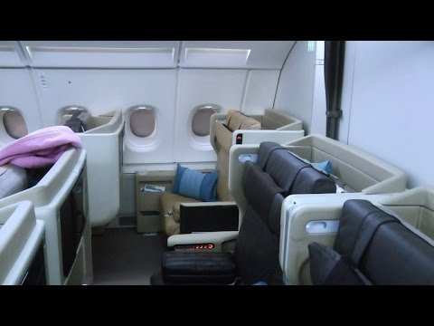 A380 Business Class Singapore Airlines SQ333: Paris to Singapore