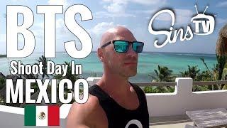 BTS Shoot Day in Mexico! || Johnny Sins Vlog #54 || SinsTV