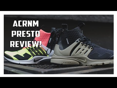 ACRONYM x NikeLab Air Presto Mid Review!