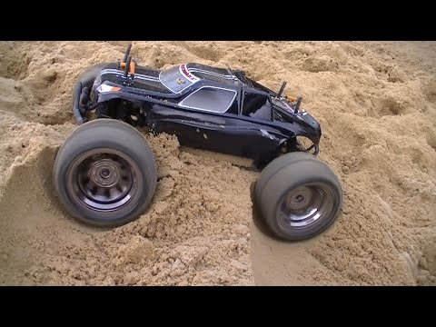 HPI Bullet ST/MT Flux 2013 - Car Park CVD Test 2s LiPo - RC Car Club
