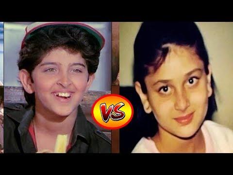 Hrithik Roshan VS Kareena Kapoor  - Transformation From 1 To 44 Years Old