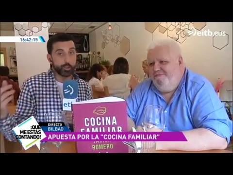 39 cocina familiar 39 el libro del cocinero javier romero for Javier romero cocina