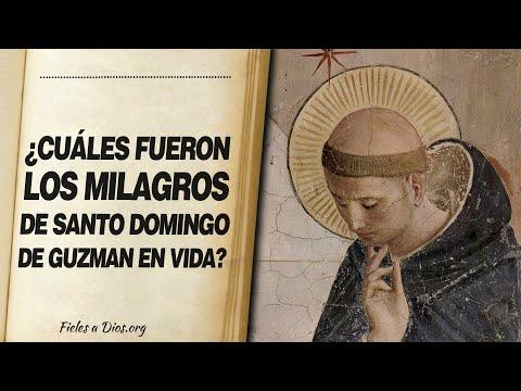 🙏 ¿Cuáles FUERON LOS MILAGROS de Santo Domingo de Guzmán en Vida? 📖