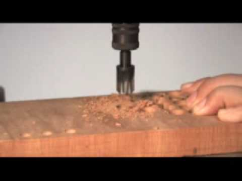 Sny Plug Cutters Presented By Woodcraft