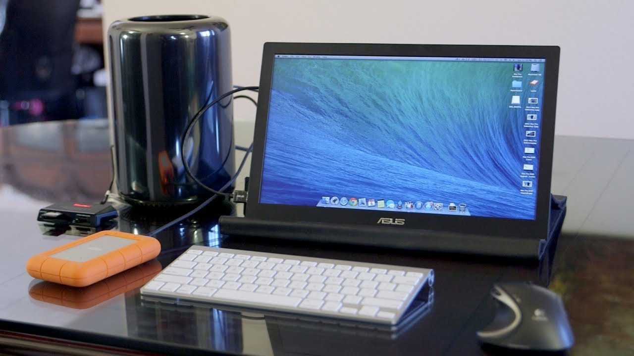 Mac Pro Portable Setup Project v10 Late 2013  YouTube