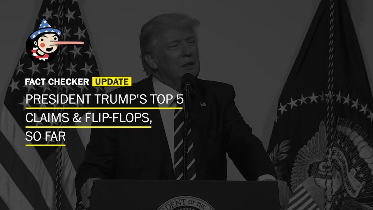 President Trump has made more than 1,318 false or ...