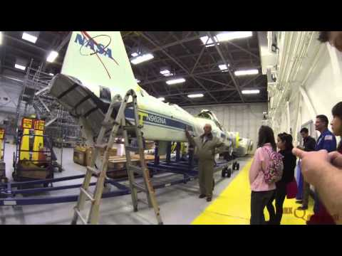 T-38 Hangar Tour (Ellington Field) - 01 February 2013