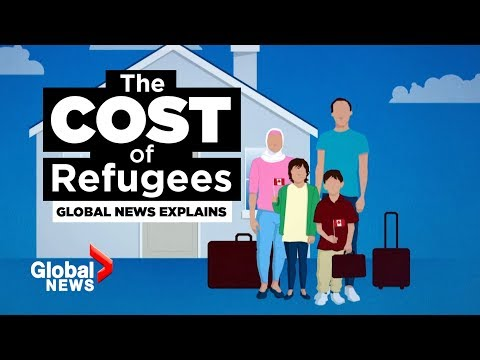 Migrant crisis: The monetary costs of taking in refugees