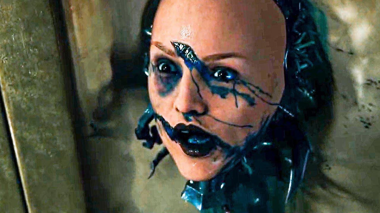 Alita vs Androids Fight in the Valley Extended Scene - ALITA: BATTLE ANGEL (2019) Movie Clip