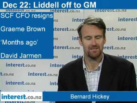 90 seconds at 9am: Liddell off to GM; SCF CFO Brown resigns; Dubai World problems