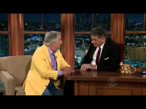 The Late Late Show  Craig Ferguson Henry Winkler  Full Interview 30 July, 2013
