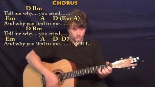 Tell Me Why (Beatles) Guitar Lesson Chord Chart with Chords/Lyrics