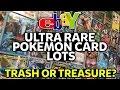 EBAY ULTRA RARE POKEMON CARD LOTS! TRASH OR TREASURE!?
