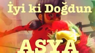 İyi ki Doğdun ASYA :)  Komik Doğum günü Mesajı 1. VERSİYON ,DOĞUMGÜNÜ VİDEOSU Made in Turkey :) 🎂